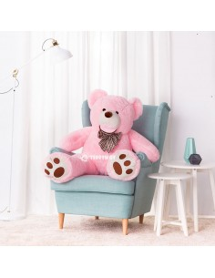 Pink Giant Teddy Bear 130 CM – 51 Inch – BoBo Giant Teddy Bears - Big Teddy Bears - Huge Stuffed Bears