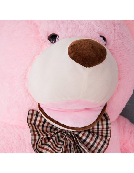 Pink Giant Teddy Bear 260 CM – 102 Inch – BoBo Giant Teddy Bears - Big Teddy Bears - Huge Stuffed Bears