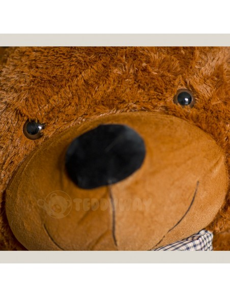 Dark Brown Giant Teddy Bear 160 CM – 63 Inch – PoPo Giant Teddy Bears - Big Teddy Bears - Huge Stuffed Bears