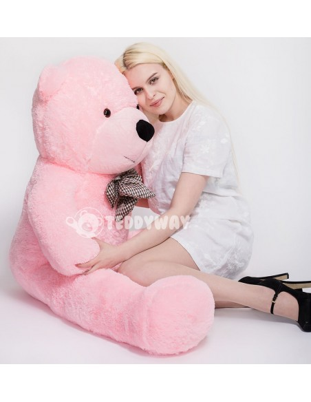 Pink Giant Teddy Bear 160 CM – 63 Inch – PoPo Giant Teddy Bears - Big Teddy Bears - Huge Stuffed Bears