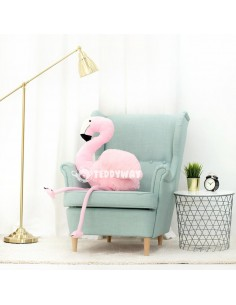 Pink Giant Plush Flamingo – 125 Cm – 49 Inch - FoFo Giant Stuffed Flamingos