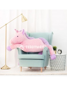 Pink Giant Plush Unicorn – 155 Cm – 61 Inch – SoSo Giant Stuffed Unicorns