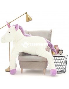 White Giant Plush Unicorn –...