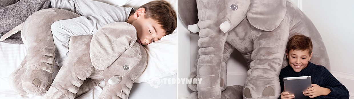 Giant Stuffed Elephants Toys - Order Online Now - TeddyWay